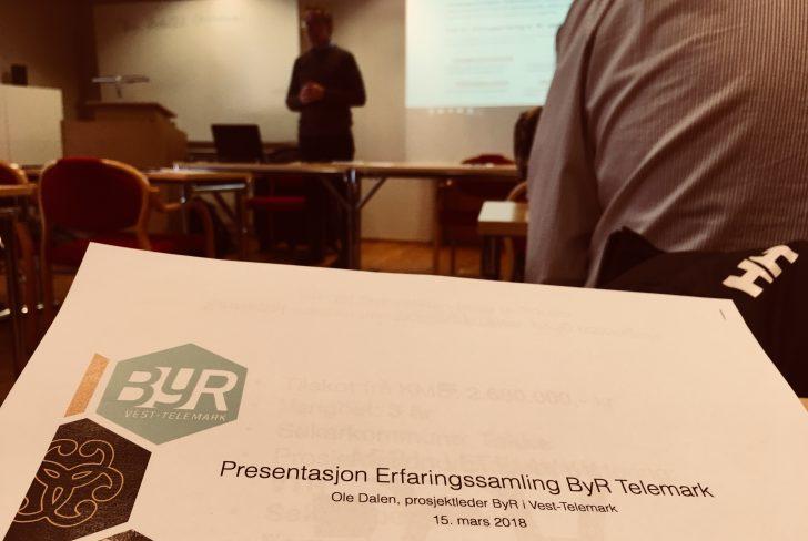Erfaringssamling  –  Byregionprogrammene  I  Telemark